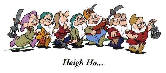 Heigh Ho, Heigh Ho, It's off to work we go!