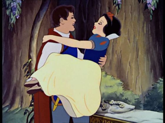 """Someday my prince will come someday we'll meet again and away to his castle we'll go to be happy forever I know..."""