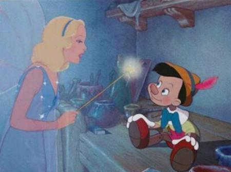 """ Always tell the Truth Pinnochio"""