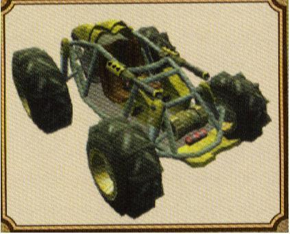 Buggie From Jak 3 and Race Car From Jak X -Combat Racing-