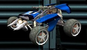 Race Car From Jak X -Combat Racing-