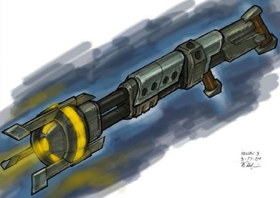 Yellow Mod for the Morph Gun