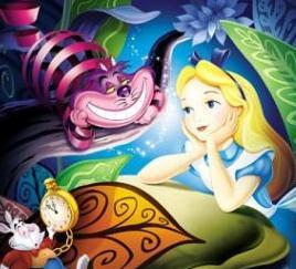 3. Alice in Wonderland- Disney's funnest movie in my opinion, it is completely psycho!!! And that's what makes it truly wonderful- it stands out, and is very funny and imaginative!