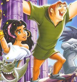 4. The Hunchback of Notre Dame- A dark डिज़्नी film, yes... but has a lot of great characters, including (in my opinion) Disney's most evil villain.