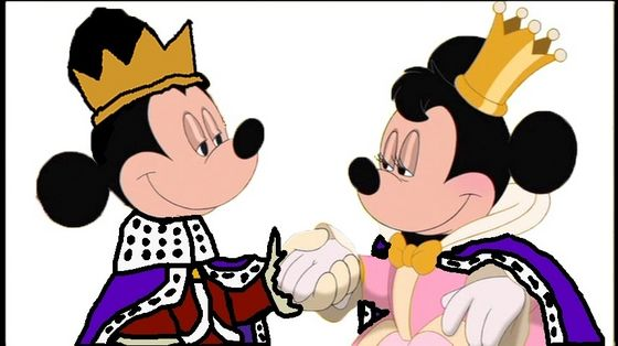 Prince Mickey and Princess Minnie - Honeymoon