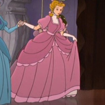 Cinderella 2- Fancy roze Dress