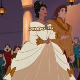 Pocahontas 2- Ballgown
