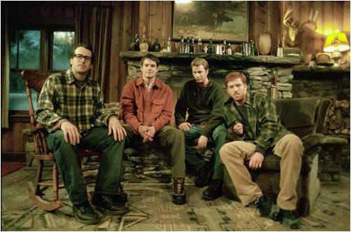 (L-R) Beav (Jason Lee), Pete (Timothy Olyphant), Henry (Thomas Jane) and Jonesy (Damian Lewis)