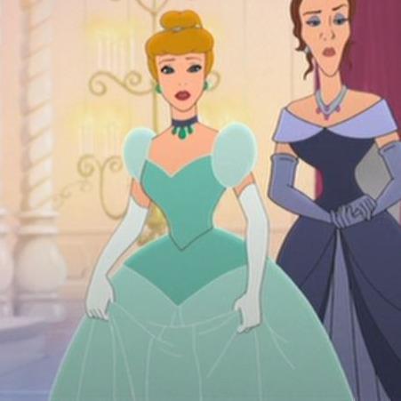 Cinderella 2- Blue Ballgown
