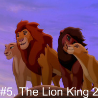 However, this shows how a sequel can glorify a movie. Kovu is the best! The movie reminds me of Romeo and Juliet, only with lions! XD