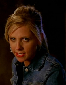 Buffy slays Caleb