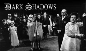 The cast of Dark Shadows, including Joan Bennett, Louis Edmond, CLarice Blackburn, Grayson Hall, Jonathan Frid, John Karlen, Alexandra Motlke, Nancy Barrett, Robert Gerringer, Joel Crothers, Kathryn Leigh Scott, David Hennesy, and Sharon Smyth