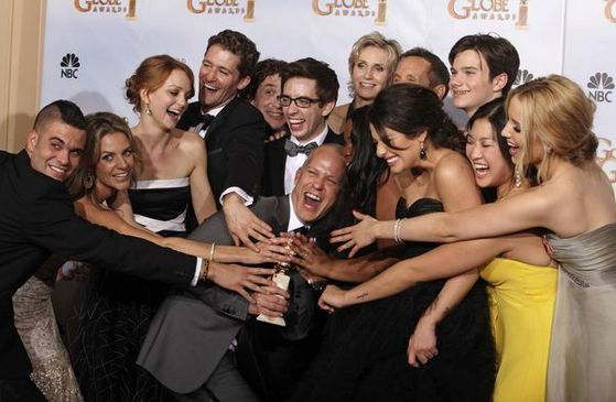 Glee for Best Comedy EMMY, The whole cast should have been appreciated for that amazing job they have all together made so far