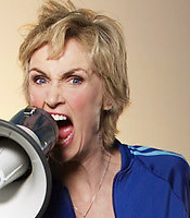 Favourite Character: Sue Sylvester, for sure!