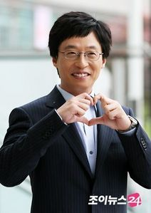 The famous comedian and MC: Yoo Jaesuk