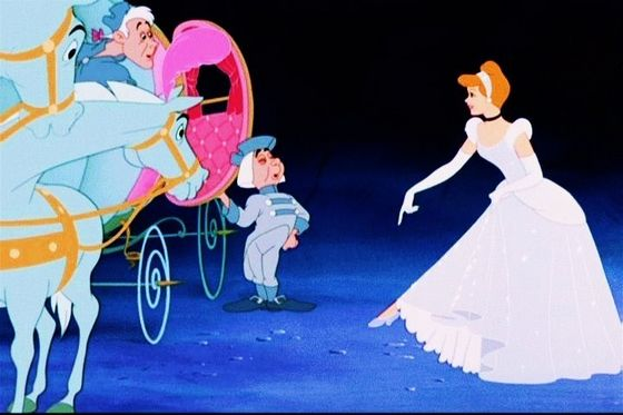 Cinderella, the princess bride.