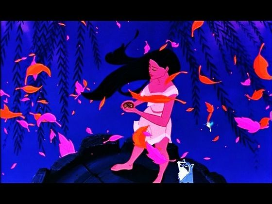 Pocahontas, the American legend.