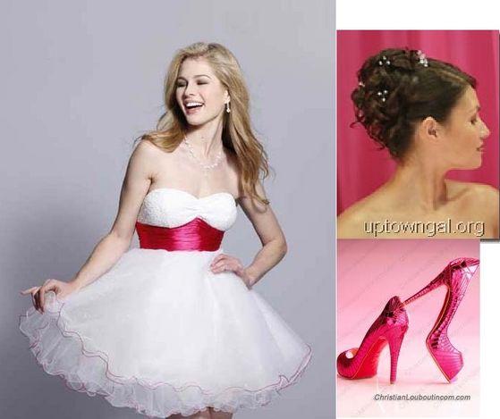 Tala's Dress,shoes,and hairdo