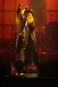 "Jody Joseph as ""One Diva"" (Stevie Nicks)"