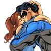 Barbara Gordon & Dick Grayson