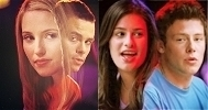 LMFAO! [i]The eyelock in 1x13, Mon? Really? Puck looks scared of Rachel in that eyelock (He does hav