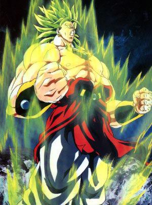 Broly the legendary super saiyan!!!!