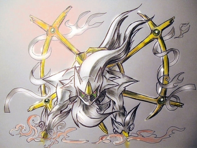 I think Arceus is a good pokemon