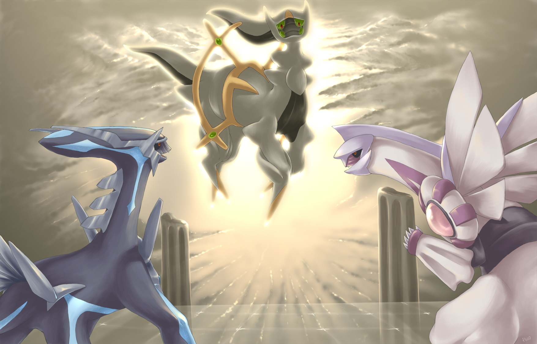 Even though I like Mewtwo a lot more than Arceus. I think Arceus is ...