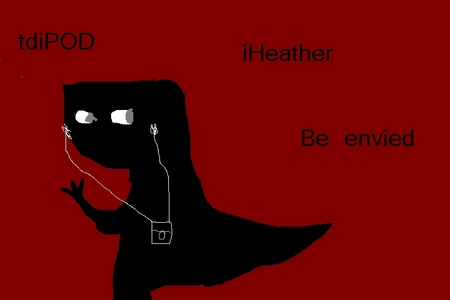 look wat i made its true about heather
