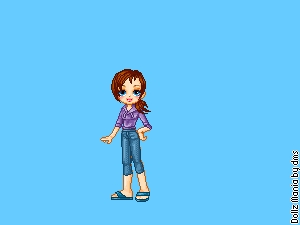 Name:Risa. Crush:Noah. Fav food:Pizza. Least fav food:Meatloaf. Hair:Light Brown In a ponytail all ti