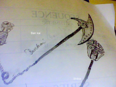 I am gonna revisit and revise my first zanpakuto :) release phrase so to speak: show them to hell za