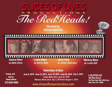 We are paying tribute to Shirley Maclaine in this exciting production starting seterusnya Saturday...Shirle
