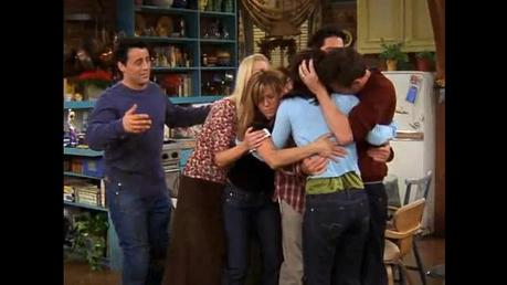 here :)<br /> can i have one of chandler jumping onto joey?