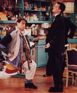 Couldn&#39;t find that one but i found Joey acting out Chandler