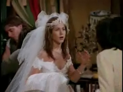 rachel and phoebe in a bridesmade dress