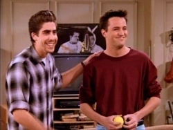 eddie and Chandler!  next: all of them in monica's apartment on the couch