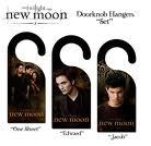 Aww, I couldn't find any Twilight door knobs, but I found door hangers. Are those close enough?