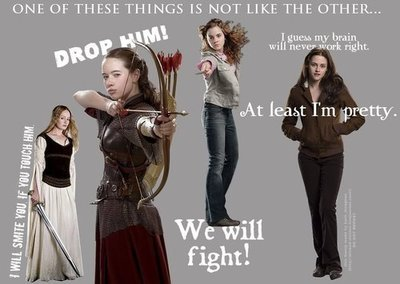 the sad thing is that the Bella quote is a real quote from the books, not just made up and/or taken o
