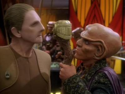 8. The relationship between Odo & Quark