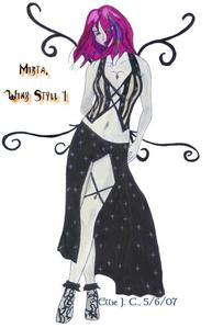 name: marcie original name: mirta title: illusion master power: illusions that hurt weapon: magic swo