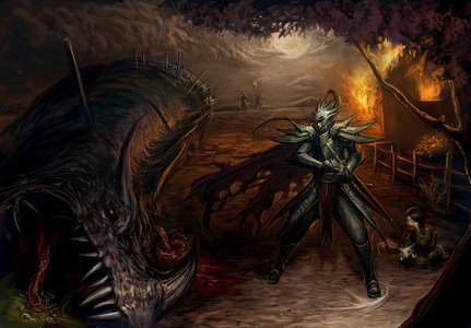 This one is by Ng Fhze Yang 'Chris' known as chrisnfy85 on DeviantArt and I found it here http://chri