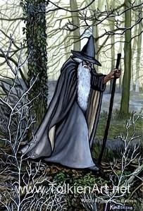 this one is by kim benson.  link:http://www.tolkienart.net/Gallery_Order_Info/Gandalf_/gandalf_.html