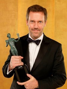 I love this picture of Hugh Laurie. Awesome man! :D