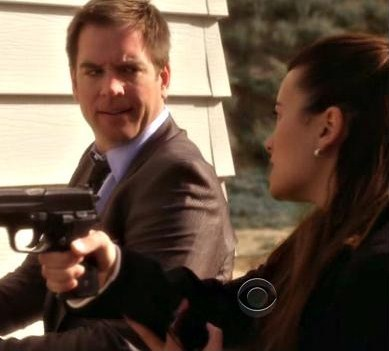Hope this is ok Dannii! Can i please have a pic o Ziva pouring water on Tony in Undercovers?? :D