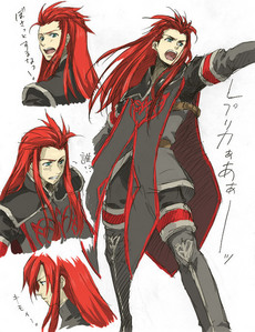 Asch from Tales of the Abyss...
