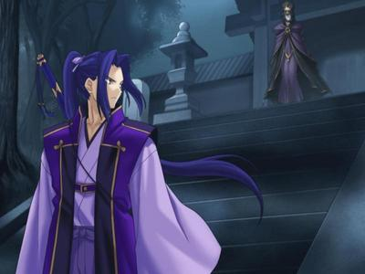 Assassin from Fate Stay Night (the one with Purple hair)