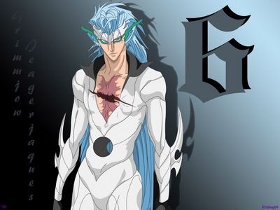 Grimmjow in released form