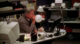 """Hope this is okay, Jenna! I'd like a picture of Tony and Ziva eating chinese together in """"The Voyeur"""