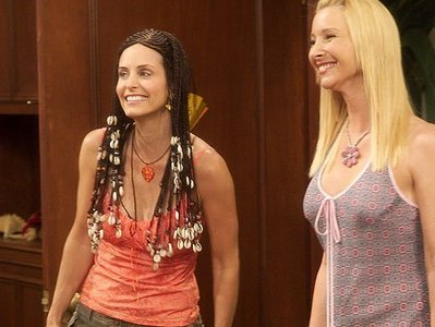 Monica:Arne`t we adorable? Phoebs:Ow yeah we are :D