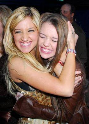 Ashley Tisdale and Miley Cyrus are my favourite!